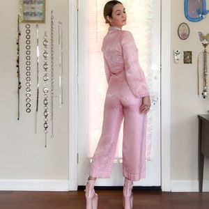 Vintage Pants - Pretty in Pink 60's Jumpsuit 💗